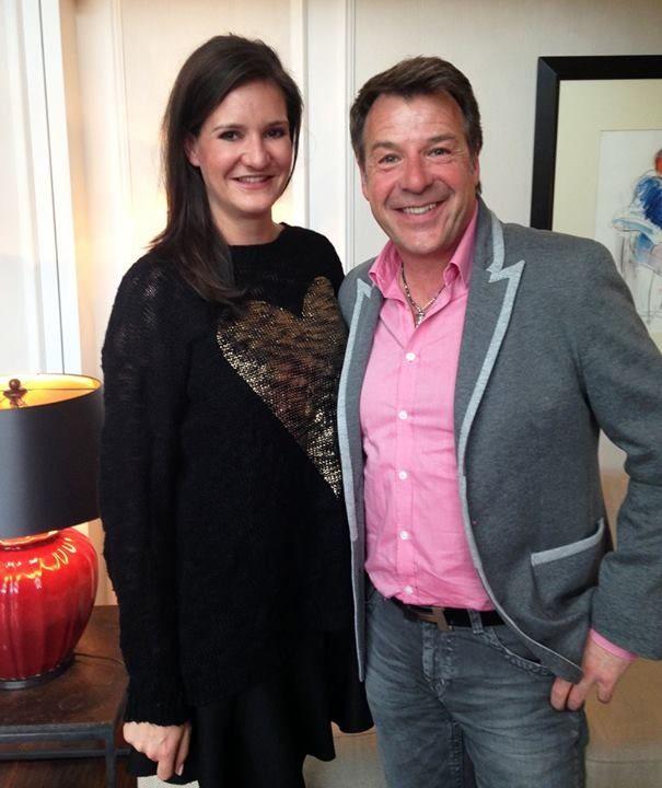 Selfie-Time: Redakteurin Julia von BUNTE.de im Gespräch mit Patrick Lindner