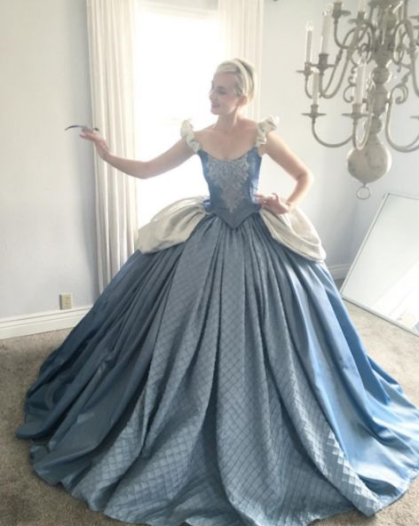 His wide, Bethanie, as Cinderella. Costume DIY                                                                                                                                                                                 More