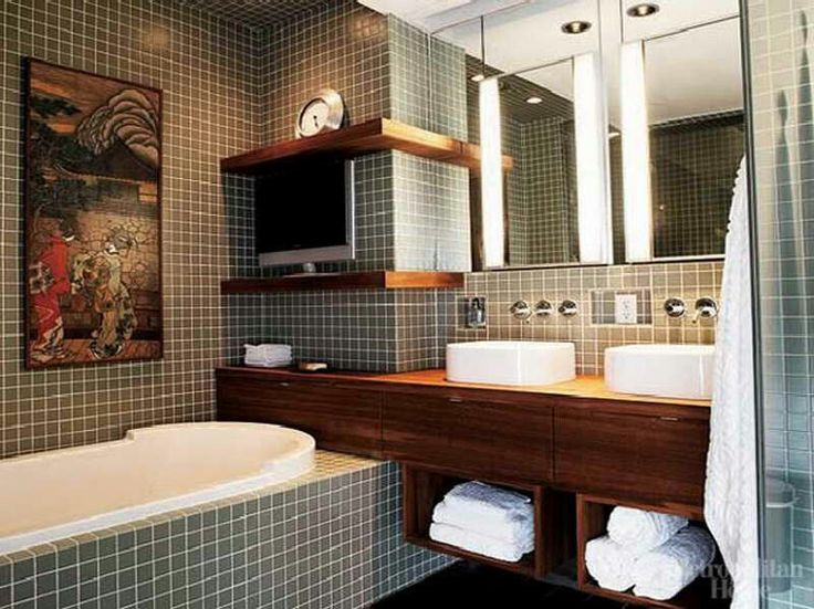 up-to-date neutral bathroom idea