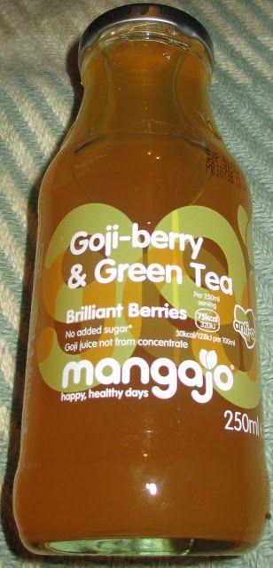 FOODSTUFF FINDS: Mangajo Goji-berry & Green Tea (Waitrose) By @Spectre