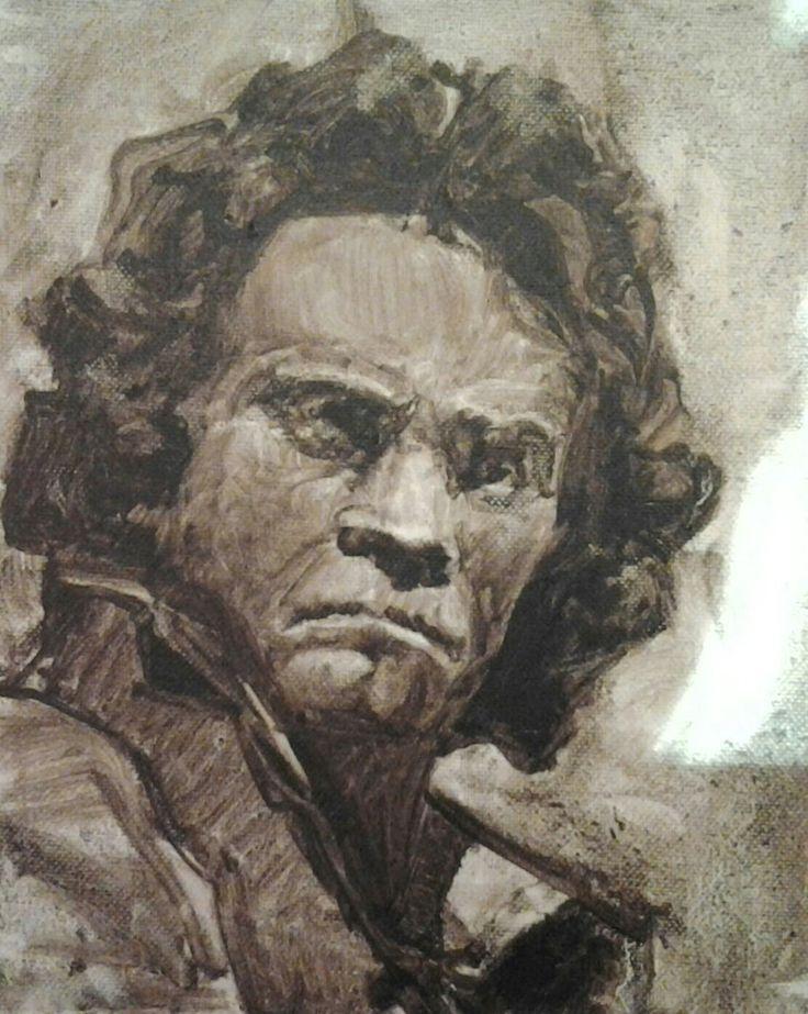 Beethoven oleo