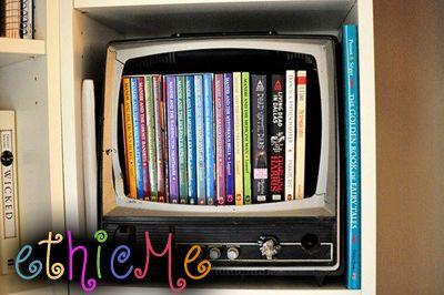 Una vecchia tv diventa un pezzo di arredo!