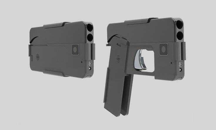Arma em formato de celular smartphone - 1