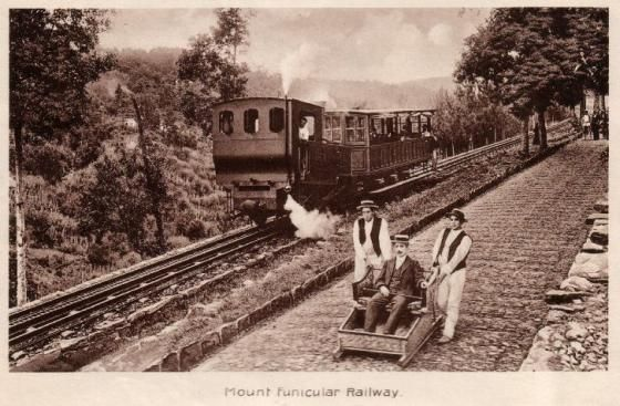 Descida do Monte - Descida de cesto - Comboio