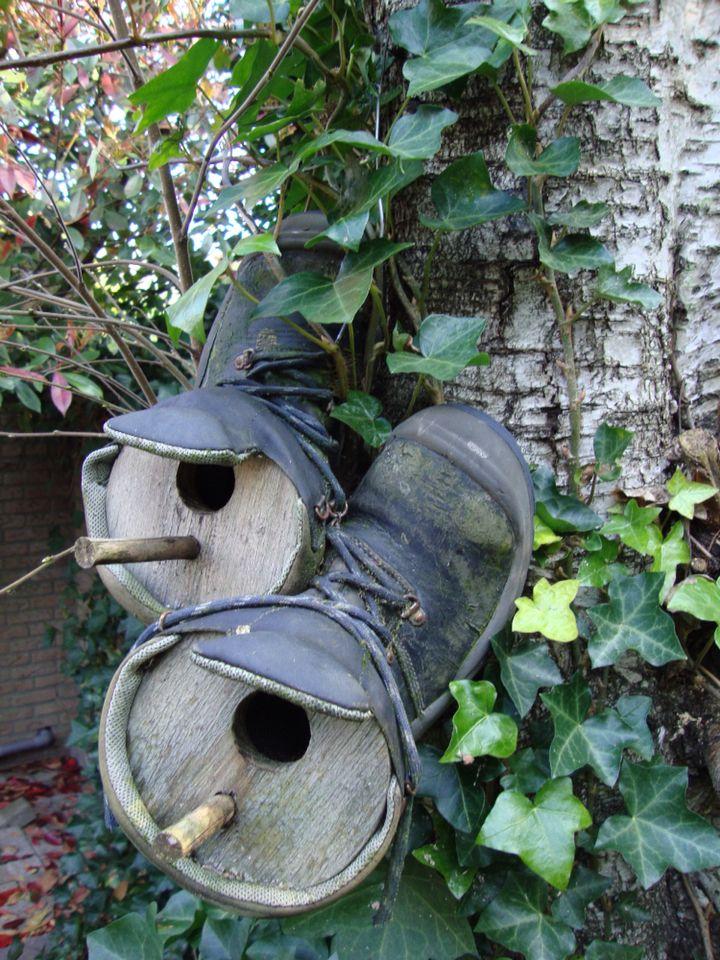 Oude schoen