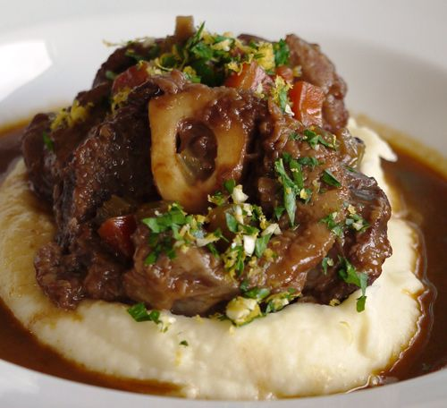 Osso Bucco - slow cooked