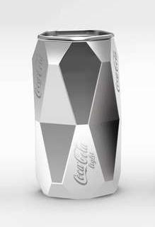 Dzmitry Samal Unveils Geometric Coke Design