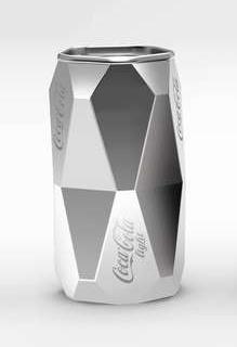 Dzmitry Samal Unveils Geometric Coke Design