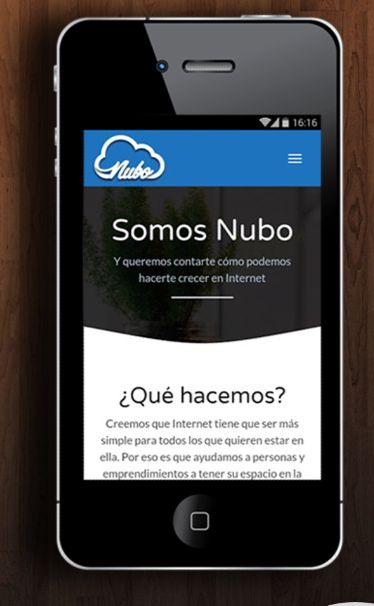 Diseño website Getnubo