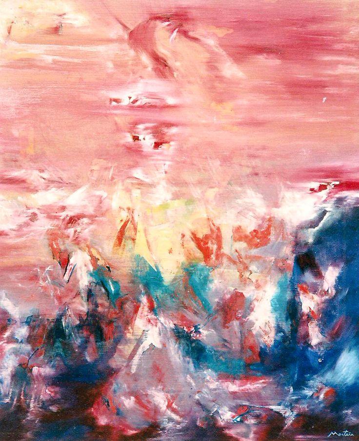 """""""The Reason Of Faith"""" """"La Razón De La Fe"""" Oil on canvas"""