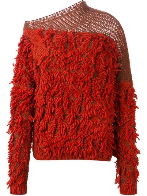 '152 Tapas' fringed sweater | A.F. Vandervorst