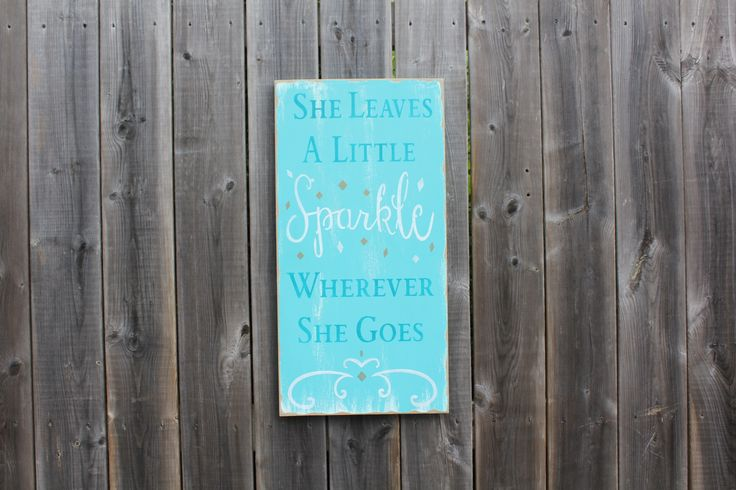 She leaves a little Sparkle wherever she goes. Made by The Primitive Shed, St. Catharines