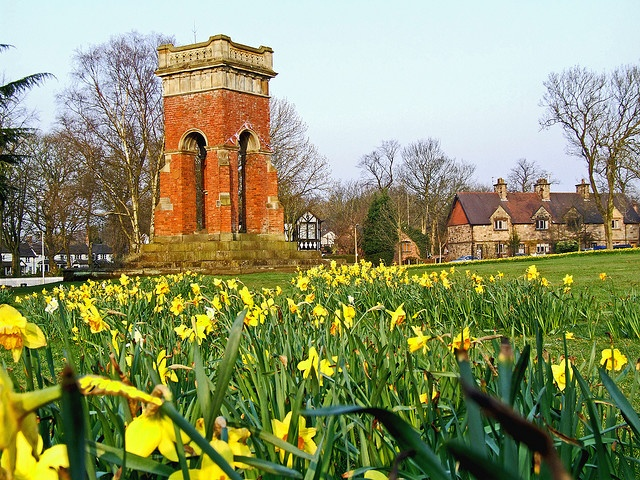 Worsley Green (and monument), Worsley, Greater Manchester, UK ~ Ray Haslam @ flickr