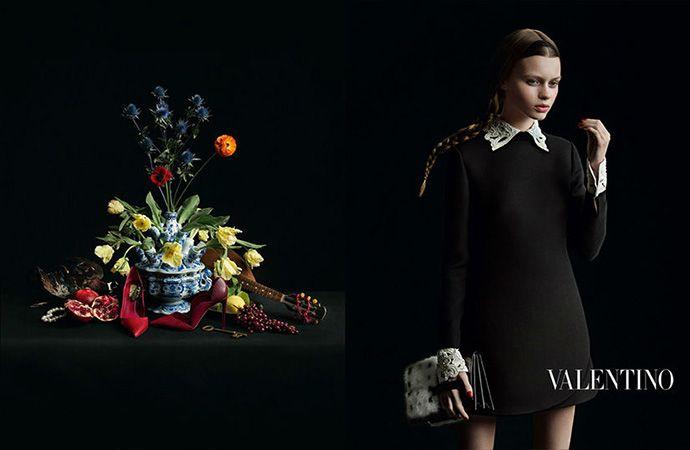 Фламандская живопись в новой кампании Valentino - Поиск в Google