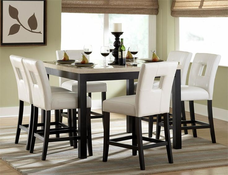 17 Best ideas about White Dining Room Sets on Pinterest Used