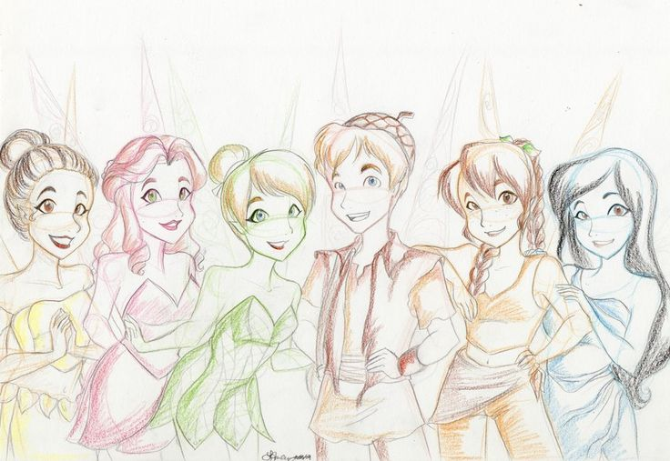 1000+ images about Tinker Bell & Disney Fairies on Pinterest