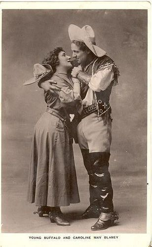 *Young Buffalo Bill and Caroline May Blaney     *Cowgirl Dancing with Cowboy*