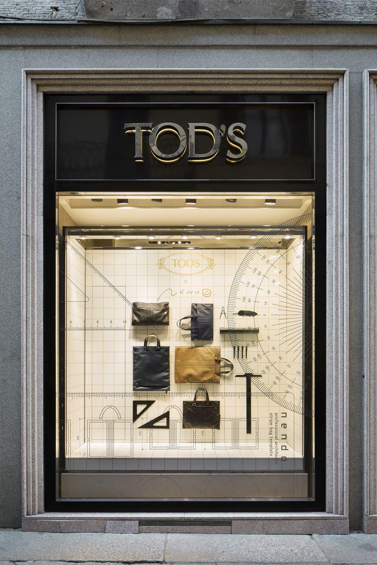 architect bag / 建築家のための大きさの変わるバッグ for Tod's