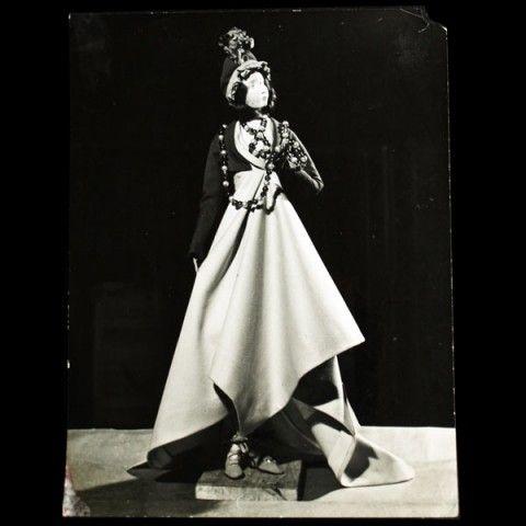 Gratitude train (1949), robe et spencer de 1797 par Jeanne Lafaurie