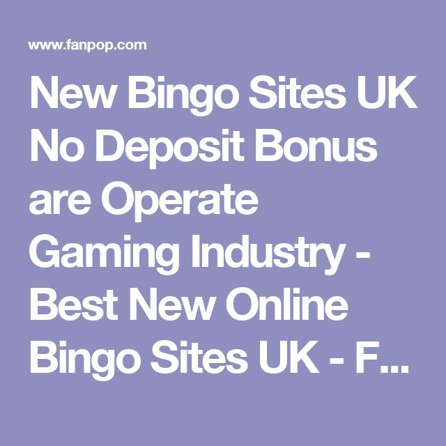 online casino bingo sites