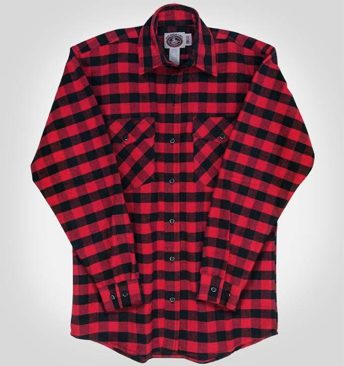 Check out the deal on Red Black Flannel Shirt at All American Clothing Co