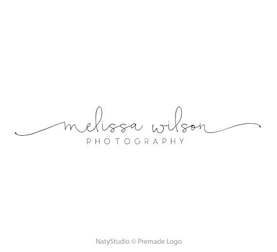 Calligraphy logo premade logo design typography logo text only logo handwritting…