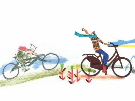 """Op zondag 3 maart kunnen kinderen vanaf 5 jaar komen tekenen tijdens de workshop """"Explositie"""". Illustratoren Mattias De Leeuw en Inge Bogaerts stellen heel de maand maart hun werk tentoon aan de tentoonstellingswand in de bib. Ze houden daarbij een plaatsje vrij voor de mooie tekeningen die de kinderen maken op zondag 3 maart."""