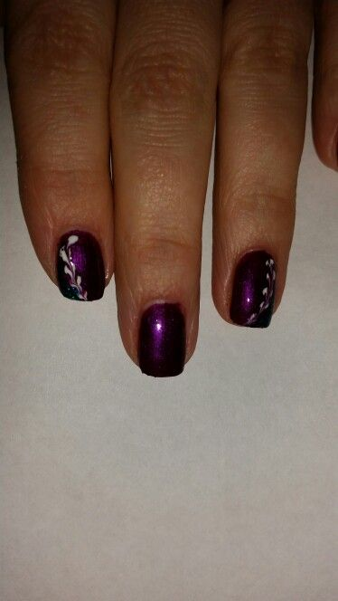 Pretty easy ) but I'm in love with this color.