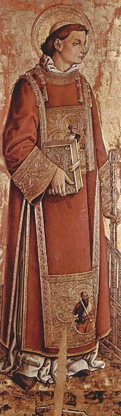 Laurentius van Rome - Patroonheilige van de bibliothecarissen