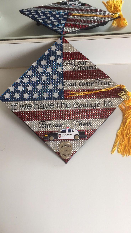 Criminal Justice Major! #graduation #criminaljustice #waltdisney #quote #police #lawenforcement #graduationcap