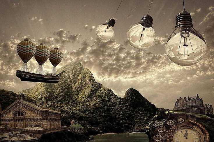 Pic by bliksem steen . #art #digitalart #modernart #steampunk #surreal #surrealism #surrealist