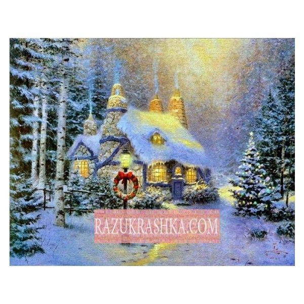 Папертоль «Зима веночек». Купить за 450 р. в магазине Разукрашка.
