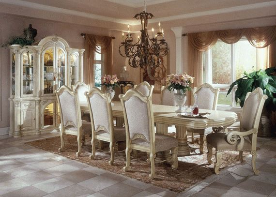 10 Amazing Classic Dining Room From Aico