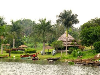 Kingfisher Resort. Source of the Nile. Jinja, Uganda. Love this place...such a serene moment in time.