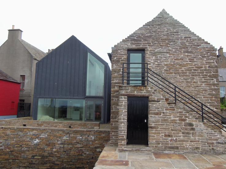 Pier Art Centre, Stromness, Orkney, Scotland. Photo by Kenneth Caldwell