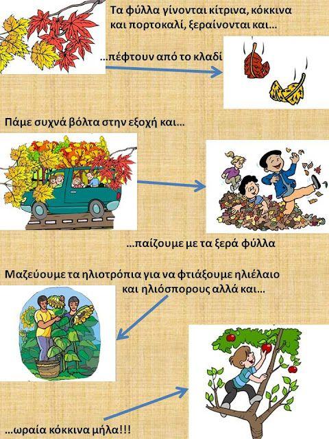 Δραστηριότητες, παιδαγωγικό και εποπτικό υλικό για το Νηπιαγωγείο: Το Σκιάχτρο του Φθινοπώρου μας λέει την ιστορία του...