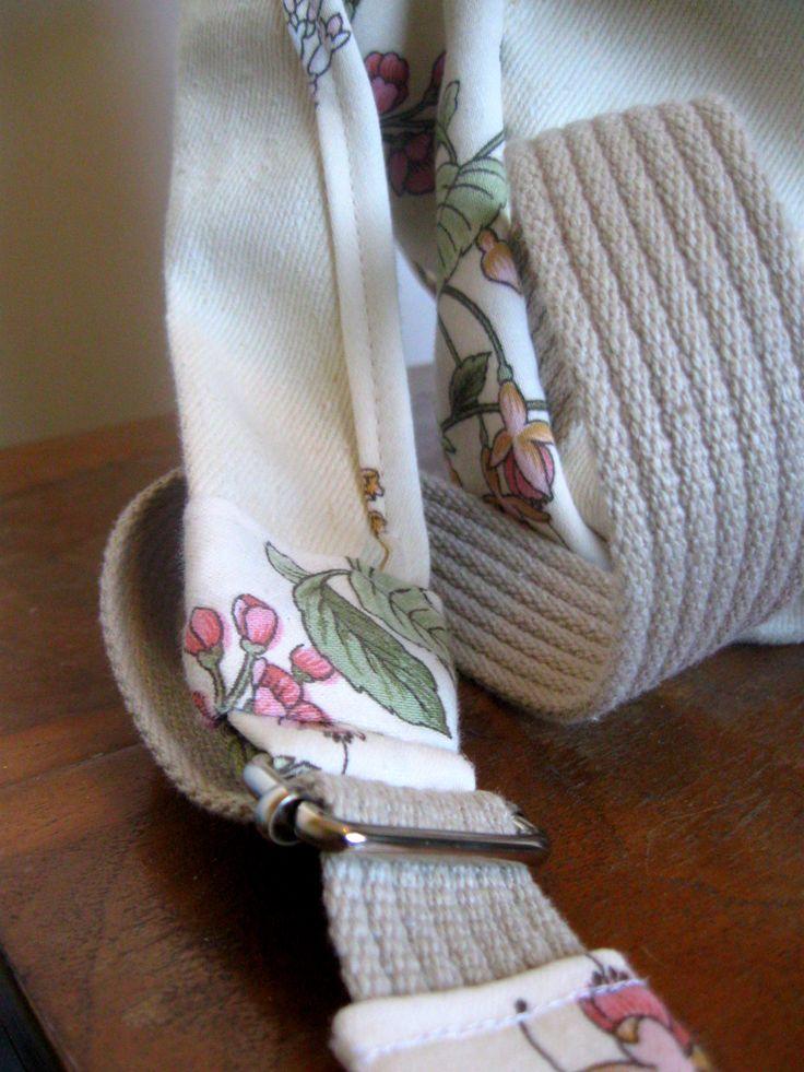 totalnie jasny z akcentem kwiatowym wykończenie ramiączek  #bag #plecaki #zet www.facebook.com/szycie.zet