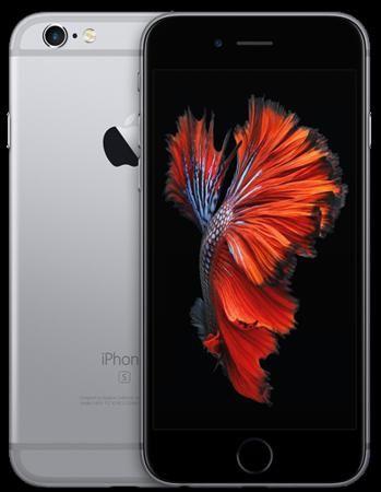 "Телефон Apple iPhone 6S 128Gb (Space Gray)  — 38570 руб. —  смартфон, iOS 9 экран 4.7"", разрешение 1334x750 камера 12 МП, автофокус память 128 Гб, без слота для карт памяти 3G, 4G LTE, LTE-A, Wi-Fi, Bluetooth, NFC, GPS, ГЛОНАСС вес 143 г, ШxВxТ 67.10x138.30x7.10 мм"