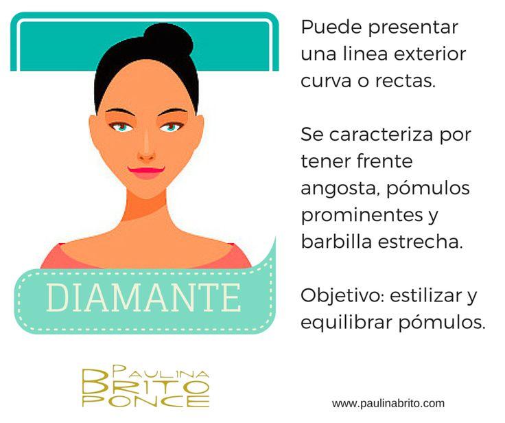 Características del rostro diamante º Paulina Brito ª