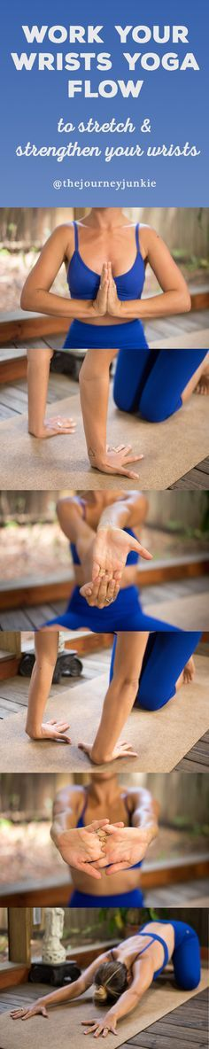 Stretch + Strengthen Your Wrists: Yoga Flow for Every Yogi - Pin now, work your wrists out now!