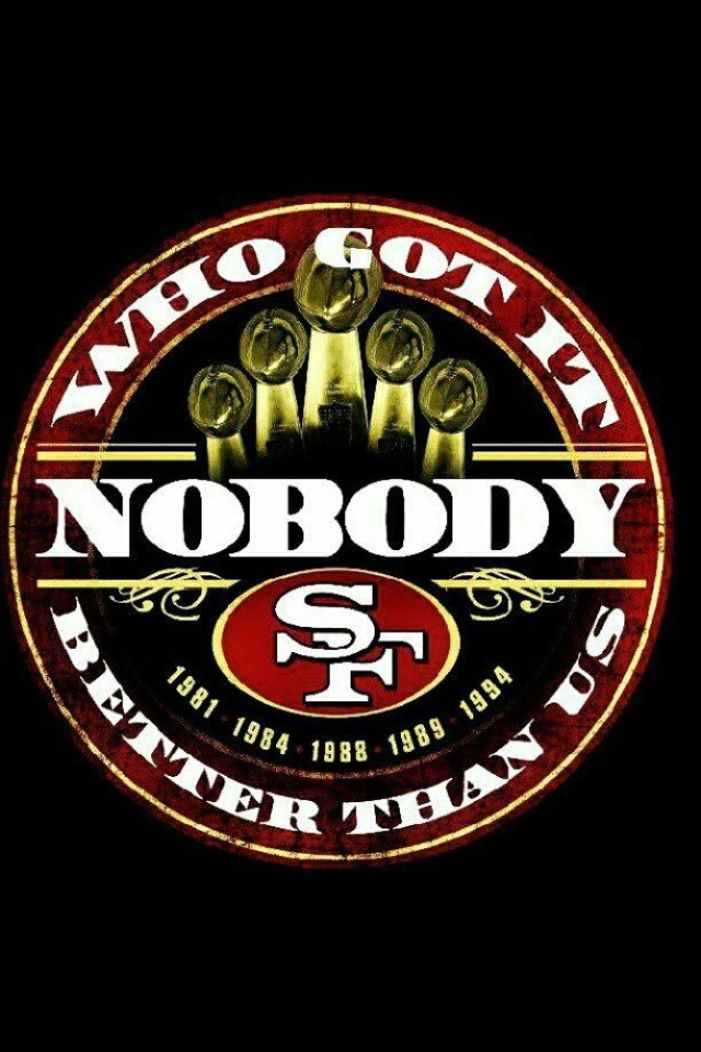49er Nation SF Niners San Francisco 49ERS Niners for Life! Harbaugh famous slogan to pump team to where they are now
