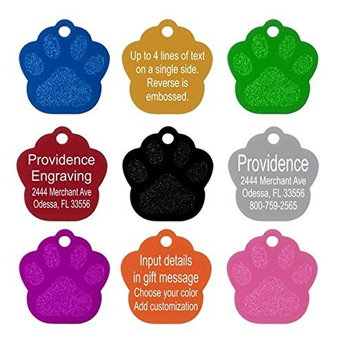 10PCS Metal Pet ID Tags | 6 Colors | Dog Cat Aluminium alloy | Dog Cat Id Tags *** Find out more at the image link.