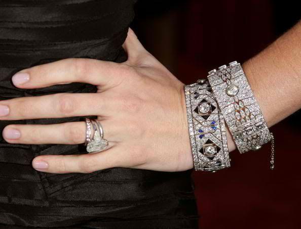 Jennifer Garner Engagement Ring Close