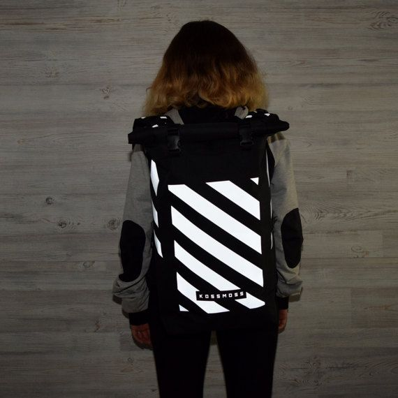 Black Backpack / Blue Backpack / City Backpack / Skate Bag /