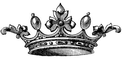 Free Vector Download – Wonderful Crown ~ This image is from an Antique Jewelry Catalog> The book dates around 1870′s–1880′s. The Crown is quite ornate. So fancy and fun! Download @: http://thegraphicsfairy.com/free-vector-download-wonderful-crown/