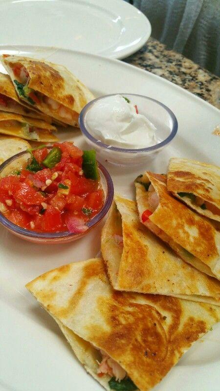 sobre Quesadilla De Camarones en Pinterest y más | Tacos de camarones ...