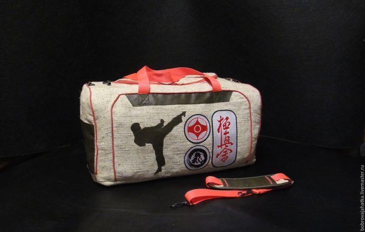Купить Мужская сумка спортивная Большая сумка на плечо Пловец Подарок мужчине