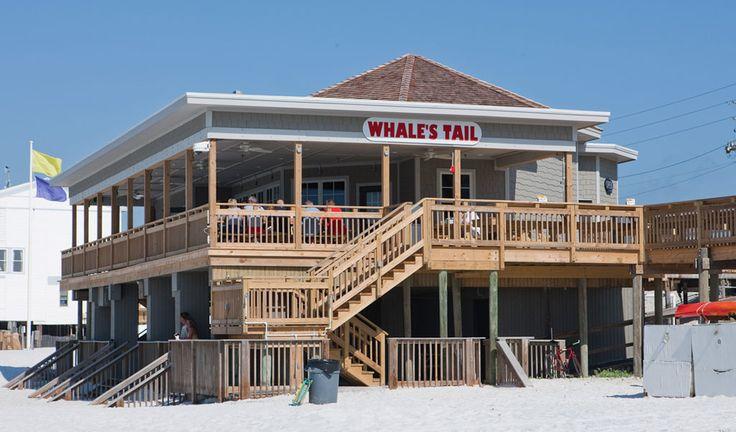 The Whale S Tail Beach Bar Grill Miramar Beach Fl
