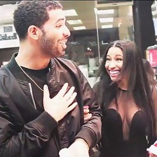 Drake and Nicki Minaj Load Up on Convenience-Store Snacks Like It's Nothing
