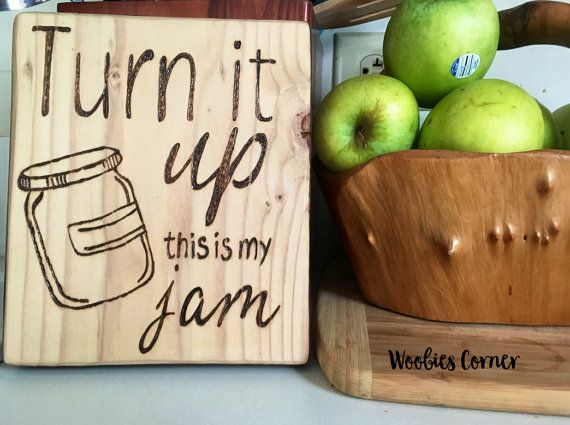 Funny kitchen decor, Funny kitchen quotes, Turn it up this is my jam, Kitchen…